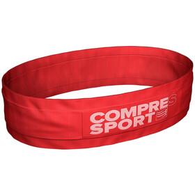 Compressport Free Cinturón, rojo